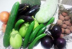 有機もしくは無農薬野菜のみ使用