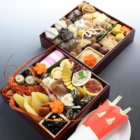名古屋発!おせち料理「七寸二段」3~4名さま向け、32,000円(税・送料込)