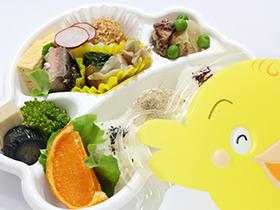 キッズ情熱弁当「ひよこ」630円